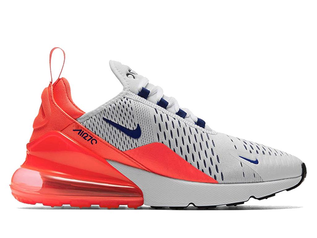 906a6233a2d2 Nike Air Max 270 QS Shoe Sportswear Cheap For Women / Kid Red Gray White  AH6789