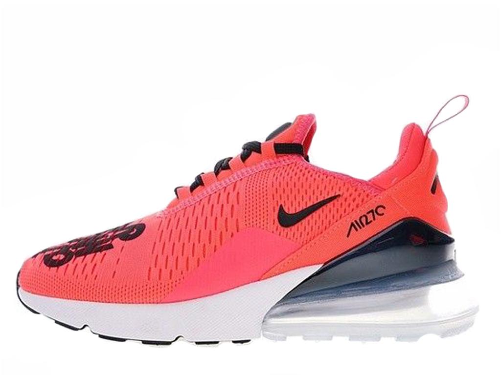 9952ba818657d Nike Air Max 270 QS Shoe Sportswear Cheap For Women   Child Red Black  BQ0742-