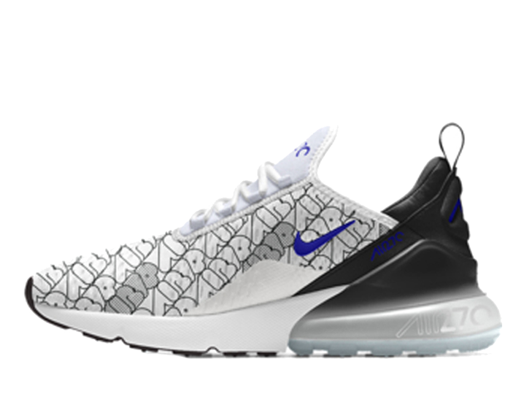 Nike Air Max 270 Gs Rose White Black Elemental 943345 601