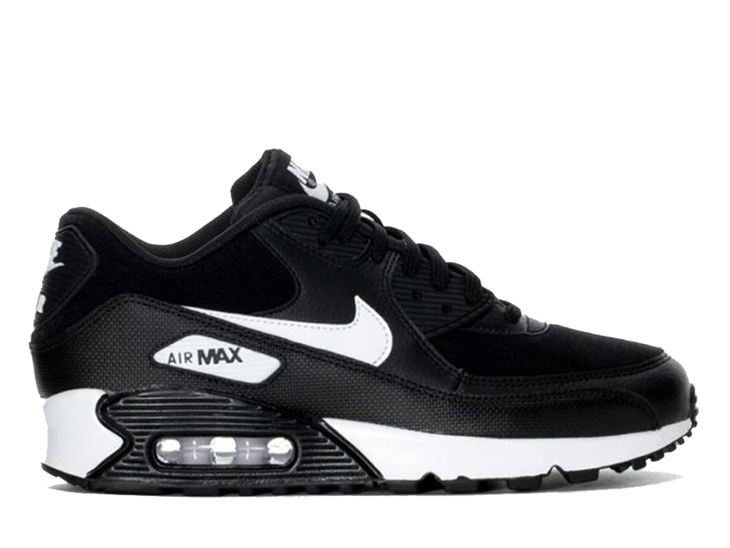 san francisco 1d29d e9838 Nike Air Max 90 325213-047 Cheap Sneakers Women´s Black White