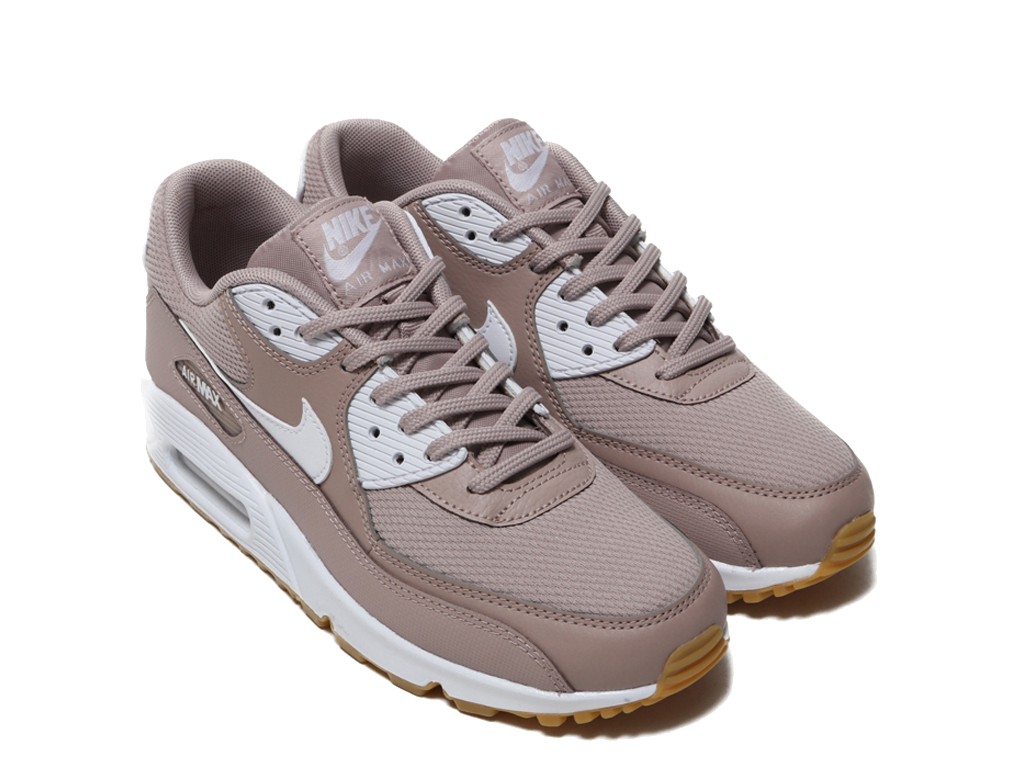 Nike Air Max 90 325213-210 Sneakers pas cher femme Brown Blanc