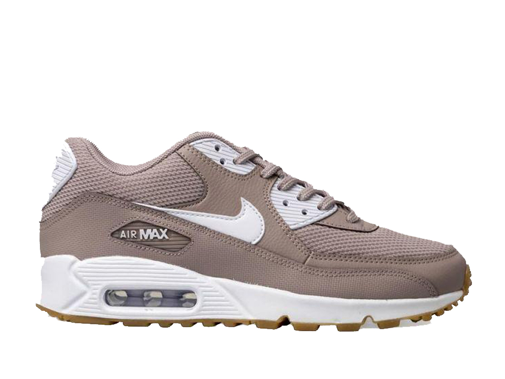 huge discount ad752 103bd Nike Air Max 90 325213-210 Sneakers pas cher femme Brown Blanc