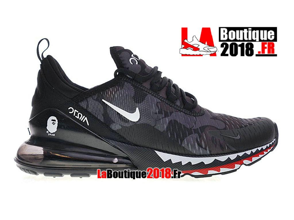 best sneakers db4ec 42033 Official Bathing APE x Nike Air Max 270 Black White AH6799-012 Men´s
