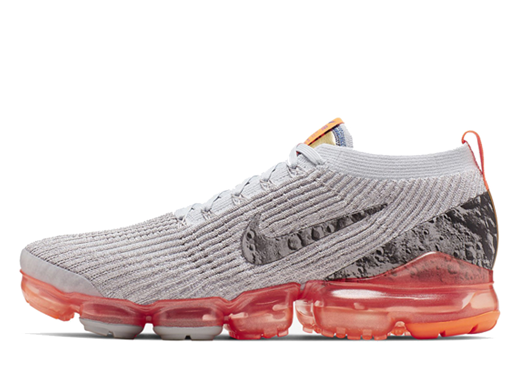 Officiel Chaussures De Sport Nike Air VaporMax Flyknit 3 AJ6900 100 Hommes Femmes Gris orange