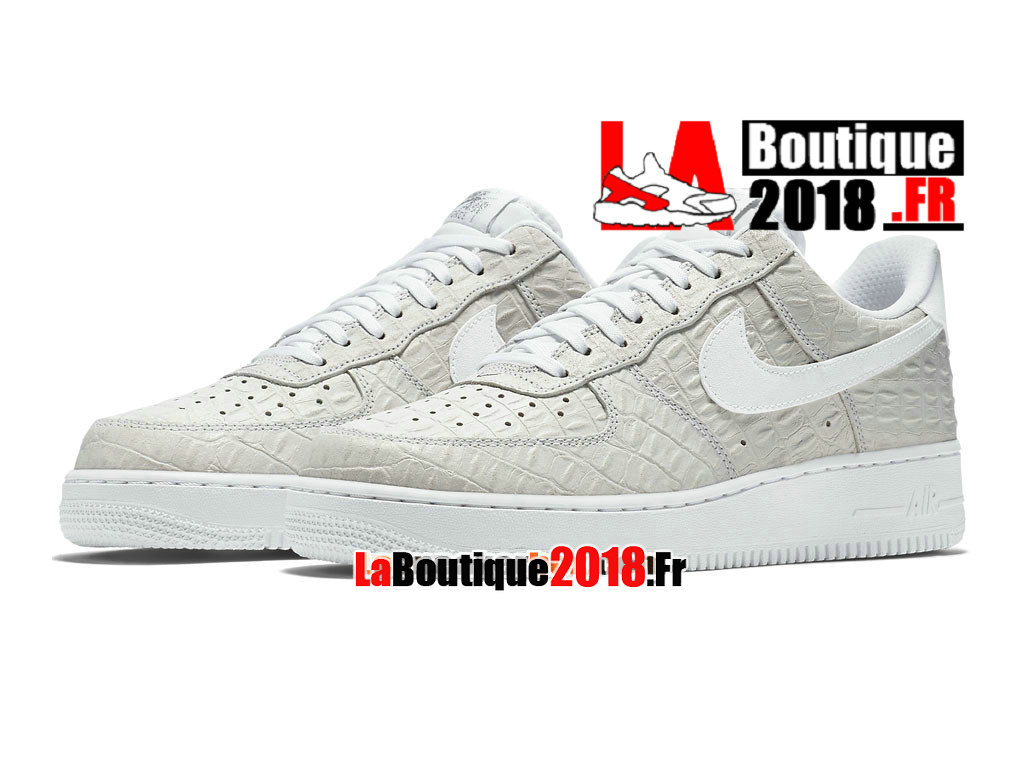 Officiel Nike Air Force 1 07 LV8 Low - Chaussures Nike Sneaker Pas Cher Pour Homme Blanc 718152-103