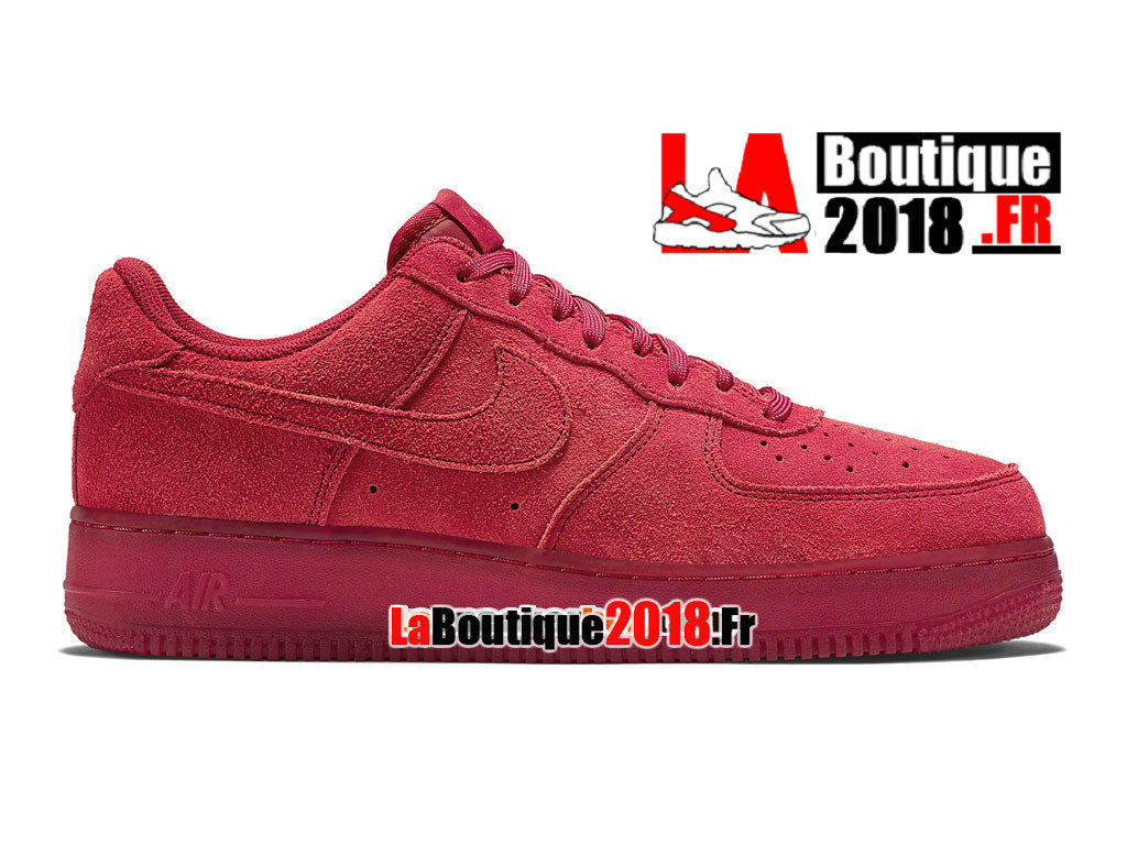 Officiel Nike Air Force 1 07 LV8 Low - Chaussures Nike Sneaker Pas Cher Pour Homme Rouge Solaire/Rouge Solaire 718152-601