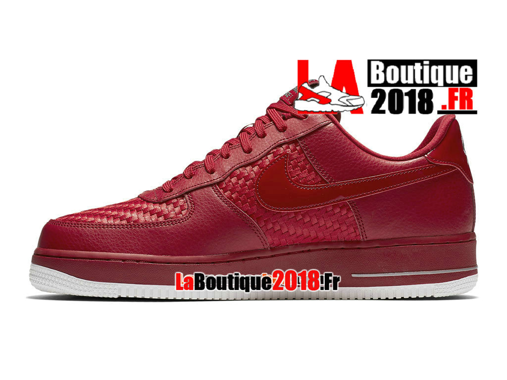 Officiel Nike Air Force 1 07 LV8 Low - Chaussures Nike Sneaker Pas Cher Pour Homme Rouge sportif/Blanc sommet/Chrome/Rouge sportif 718152-605