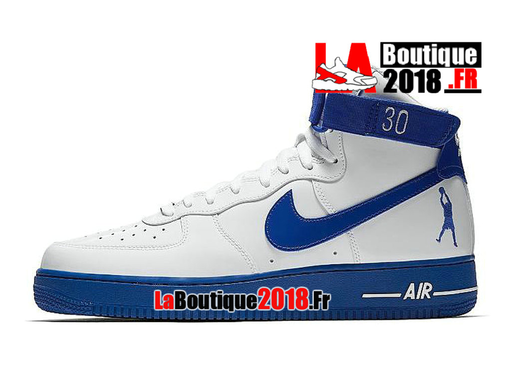 Officiel Nike Air Force 1 High Sheed Rude Awakening Blanc/Bleu AQ4229-100 Chaussures Nike Sneaker Pas Cher Pour Homme