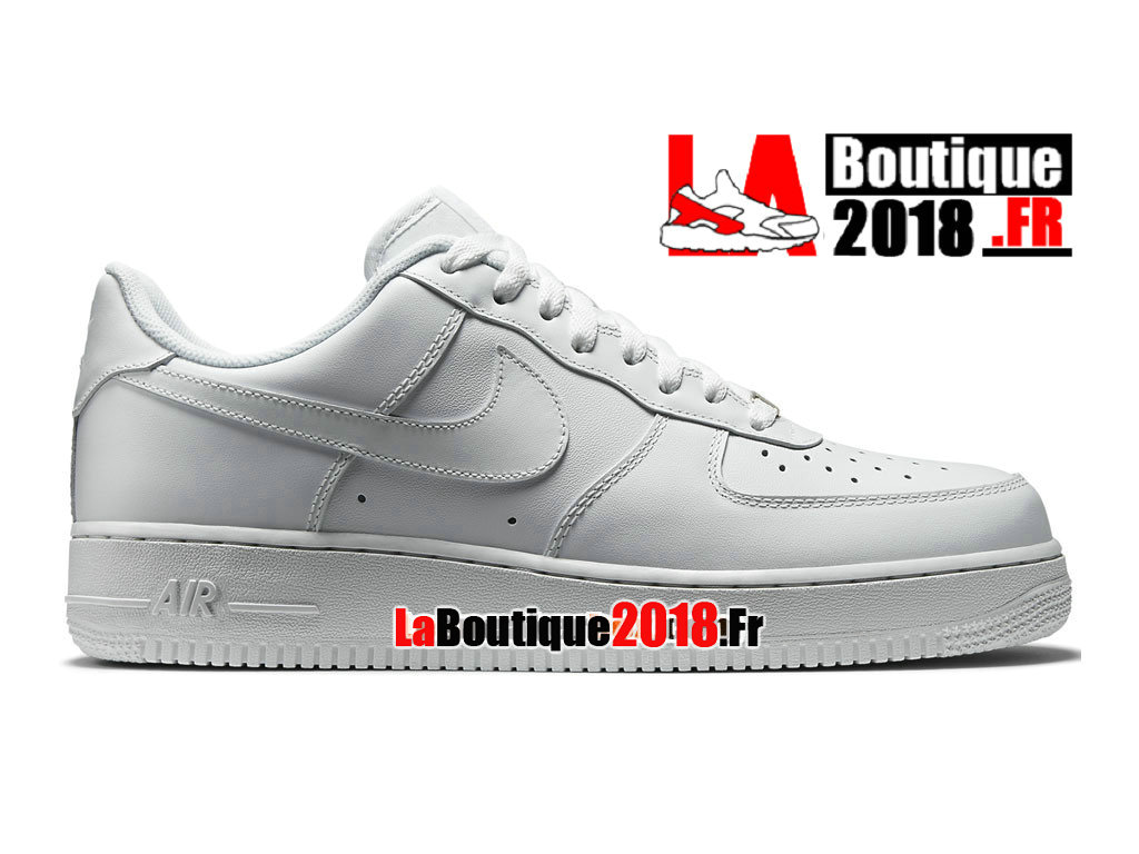Officiel Nike Air Force 1 Low - Chaussures Nike Sneaker Pas Cher Pour Homme Blanc 315122-111