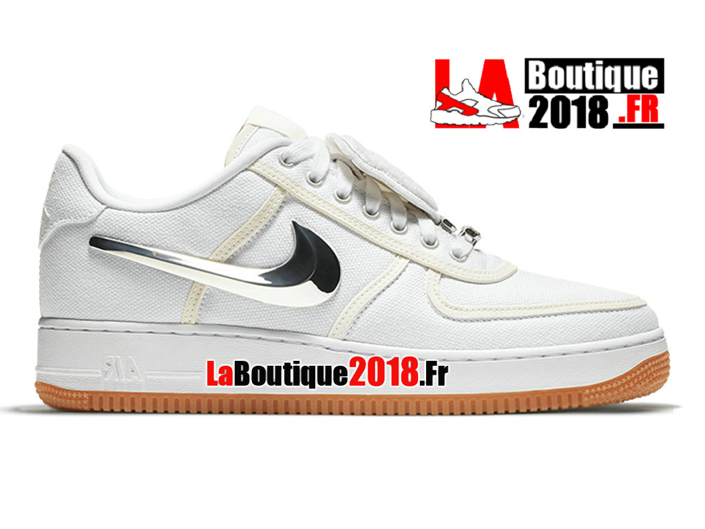 1d42b24b9ff Official Nike Air Force 1 Low Travis Scott White AQ4211-100 Men´s Nike