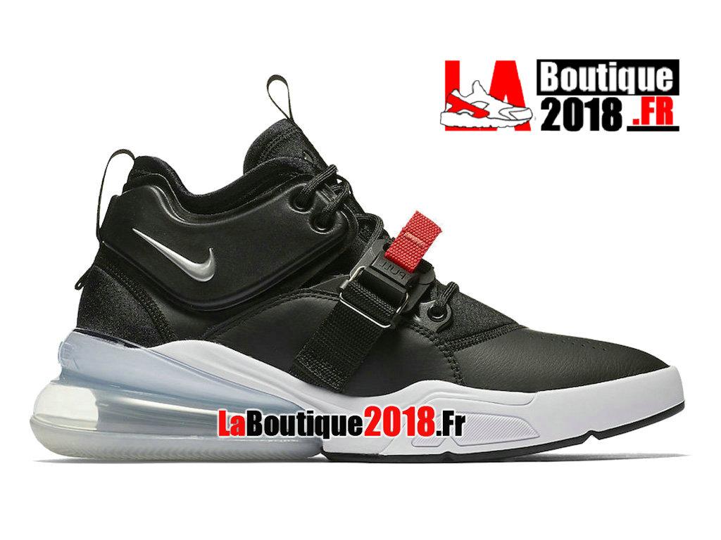 sports shoes 4ff06 e6840 Official Nike Air Force 270 Metallic Silver Black AH6772-001 Men´s Nike  Sneaker