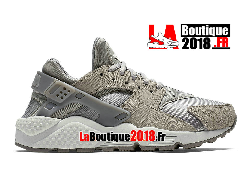 reputable site 49005 c1803 Official Nike Air Huarache Premium Suede - Men´s Nike Sneaker Shoe Grey  White 833145