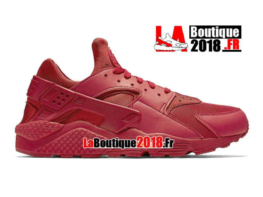 Officiel Nike Air Huarache Run - Chaussure Nike Sneaker Pas Cher Pour Homme Rouge intense/Rouge intense/Rouge intense 318429-660
