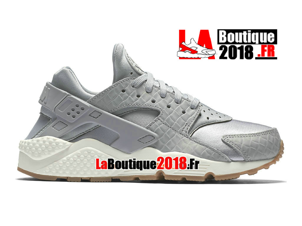 low priced 9eaa7 70ce5 Officiel Nike Air Huarache Run Premium (2018) - Chaussure Nike Sneaker Pas  Cher Pour