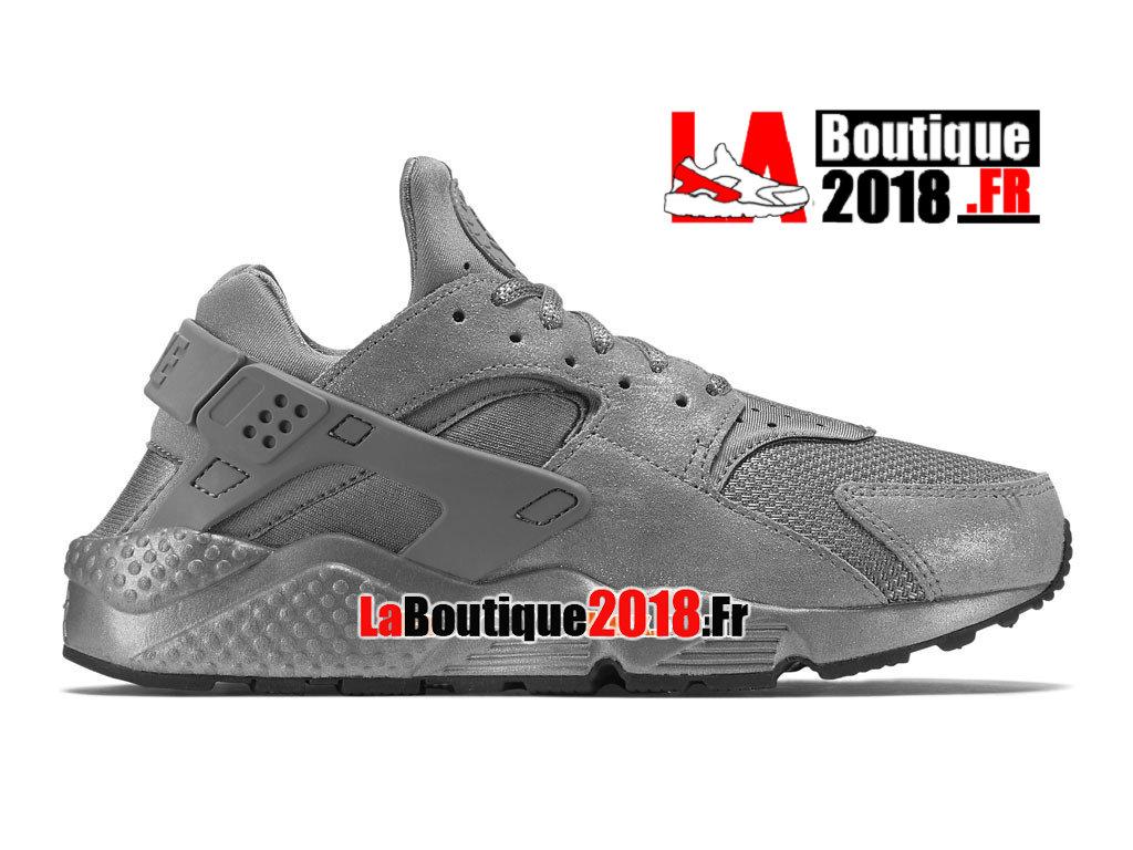 84e60dbb1235 Official Nike Air Huarache Run Premium - Men´s Nike Sneaker Shoe Iron Black