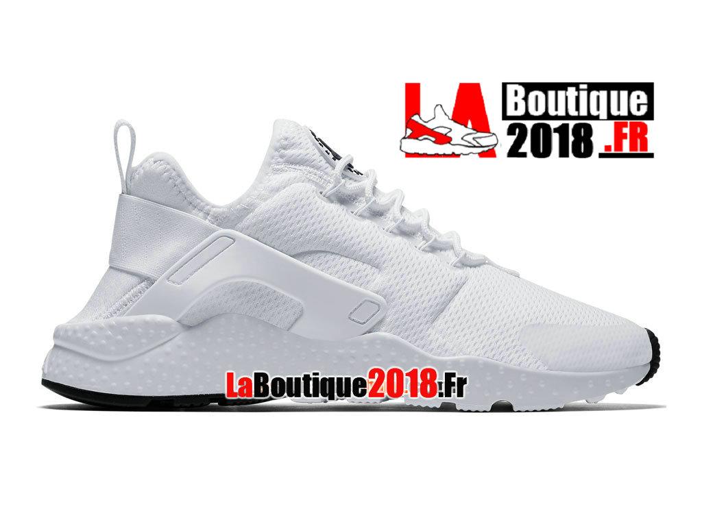 premium selection 3a6f8 b0748 Officiel Nike Air Huarache Ultra - Chaussures Nike Sneaker Pas Cher Pour Homme  Blanc/Noir