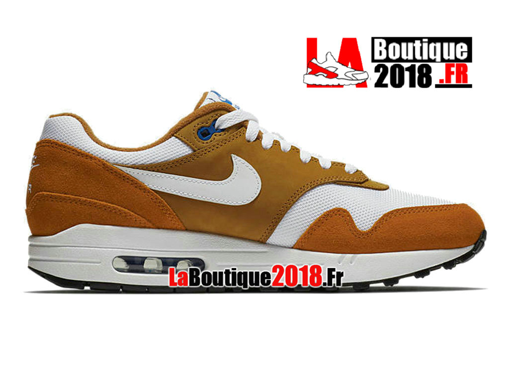 Officiel Nike Air Max 1 Curry 2018 Release Date 908366-700 Chaussure Nike Sneaker Pas Cher Pour Homme