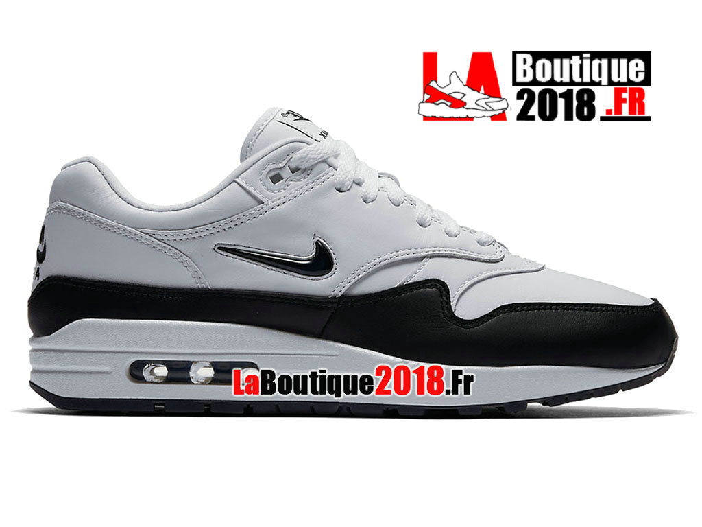 Official Nike Air Max 1 Jewel Black White 918354-100 Men´s Nike Sneaker f6706eff5769