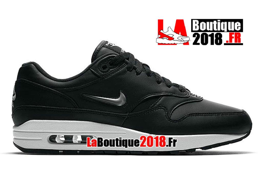 premium selection 93387 28dc9 Official Nike Air Max 1 Premium SC Jewel Black Leather 918354-001 Men´s