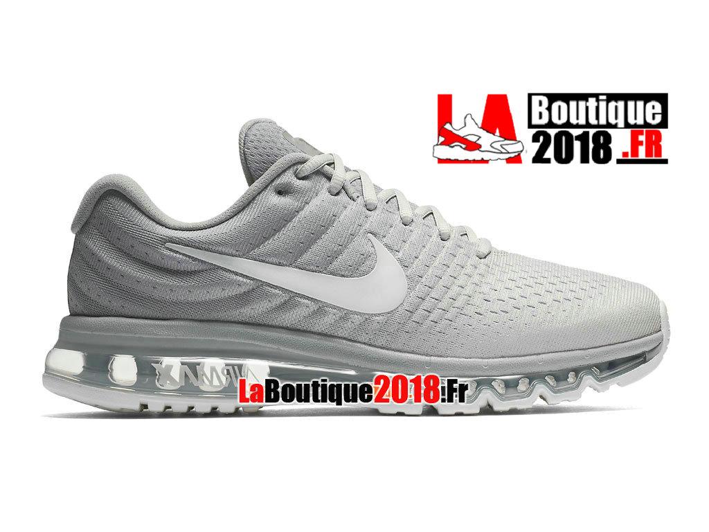 a7dbdfdb196eb Officiel Nike Air Max 2017 - Chaussure Nike Sneaker Pas Cher Pour Homme  Beige clair