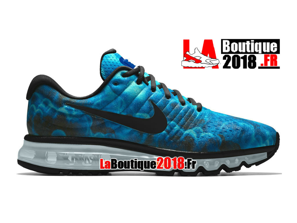 competitive price 804bf 57e65 Official Nike Air Max 2017 iD - Men´s Nike Sneaker Shoe Blue Glow