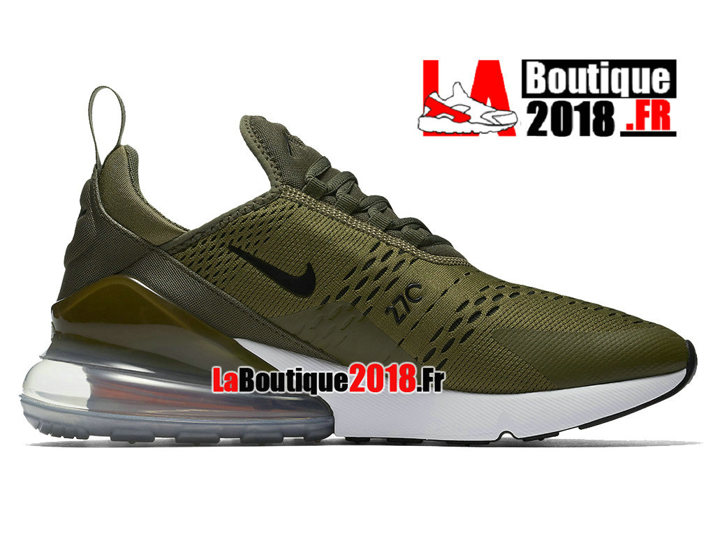 Officiel Nike Air Max 270 - Chaussure Nike Sneaker Pas Cher Pour Homme Olive Moyenne AH8050-201