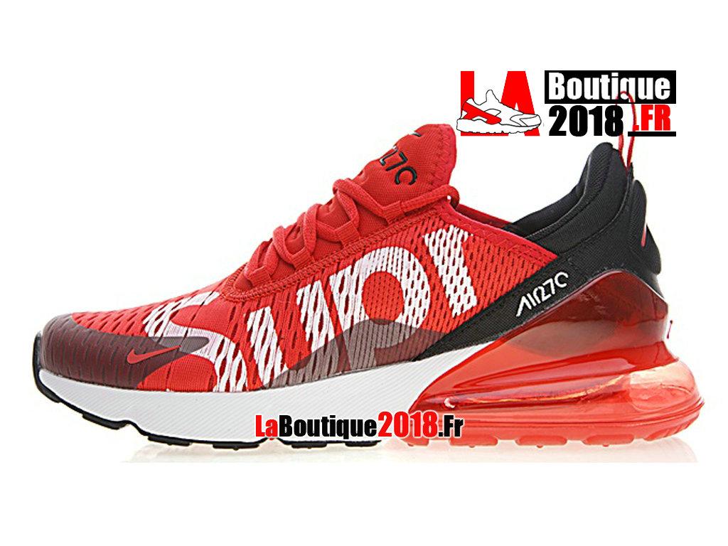 huge discount b1b08 09be8 Official Nike Air Max 270 Flyknit - Men´s Nike Sneaker Shoe Red Black AH8050