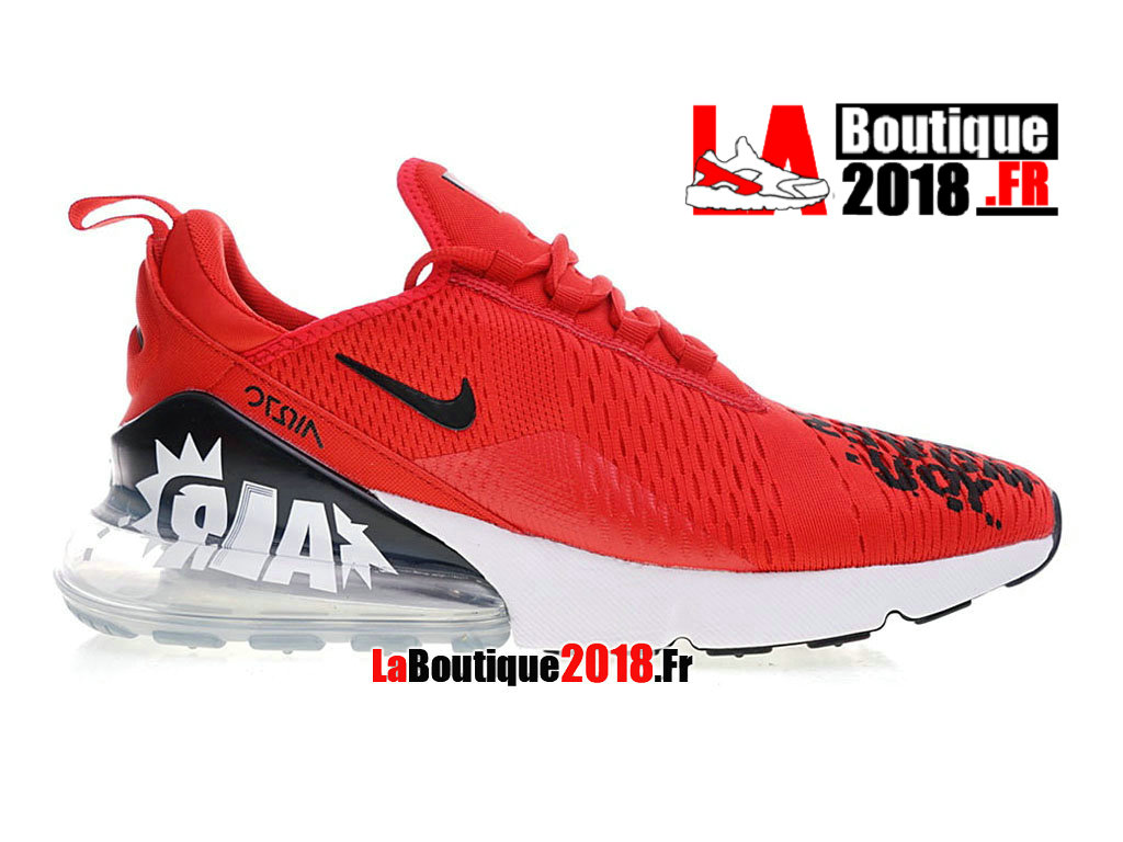 new product de593 1c66f Officiel Nike Air Max 270 Flyknit Rouge te déplace BQ0742-995 Chaussure Nike  Sneaker Pas ...