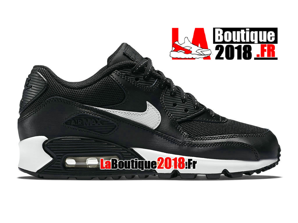 brand new 7411a c2ace ... denmark official nike air max 90 flash mens nike sneaker shoes black  white 4c109 8c9a8