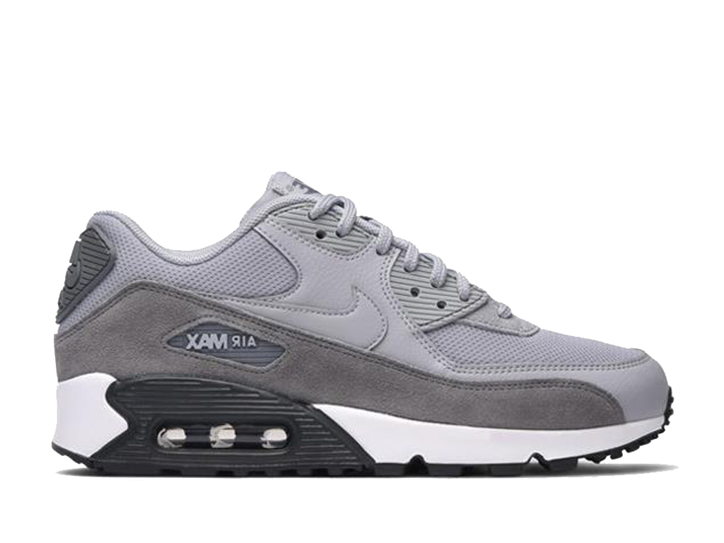 innovative design aa686 2cc66 Official Nike Air Max 90 New Shoes Nike Sneaker Cheap For Men´s Gray Black