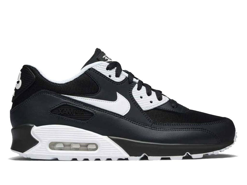 3b0880a7d9 Official Nike Air Max 90 New Essential Nike Sneaker Shoes For Men´s Black  White