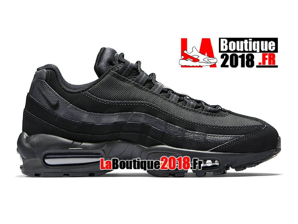 Officiel Nike Air Max 95 - Nike Sneaker Chaussure Pas Cher Pour Homme Noir/Anthracite 609048-092