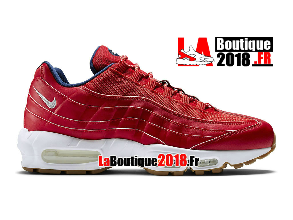 new products 2c711 e20fd Official Nike Air Max 95 Premium - Men´s Nike Sneaker Shoe University Red