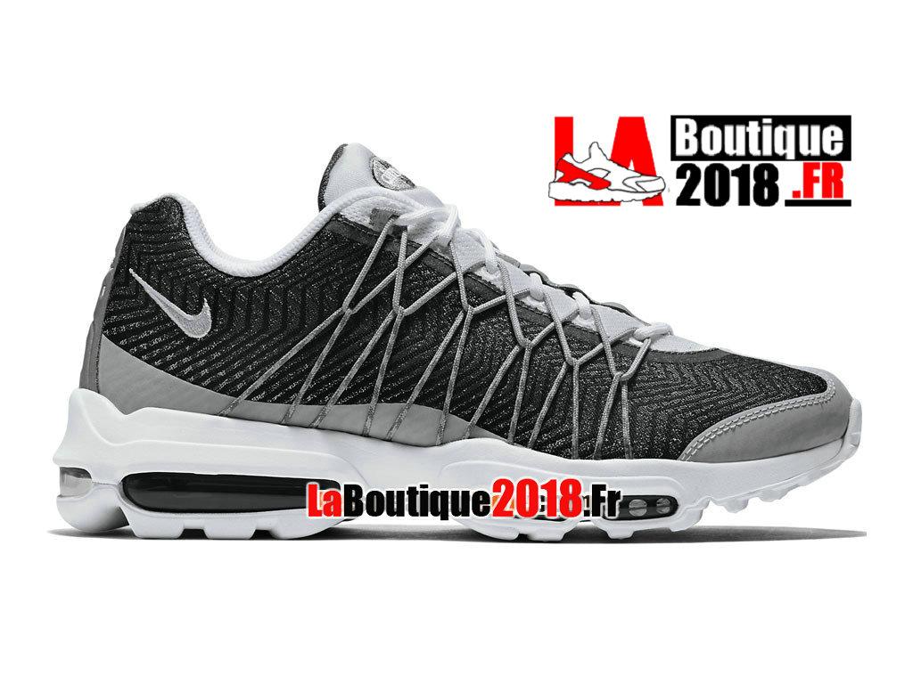 san francisco a7b0d c6806 Official Nike Air Max 95 Ultra Jacquard - Men´s Nike Sneaker Shoe White