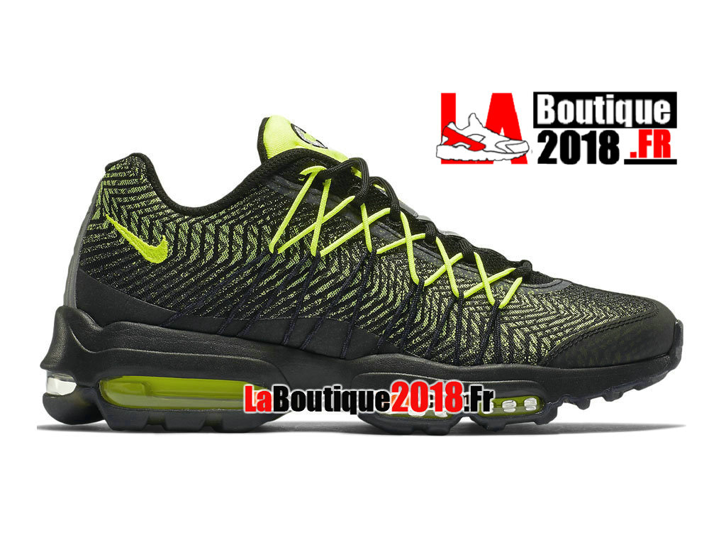 newest 242cf 595a2 Official Nike Air Max 95 Ultra Jacquard - Men´s Nike Sneaker Shoe Black