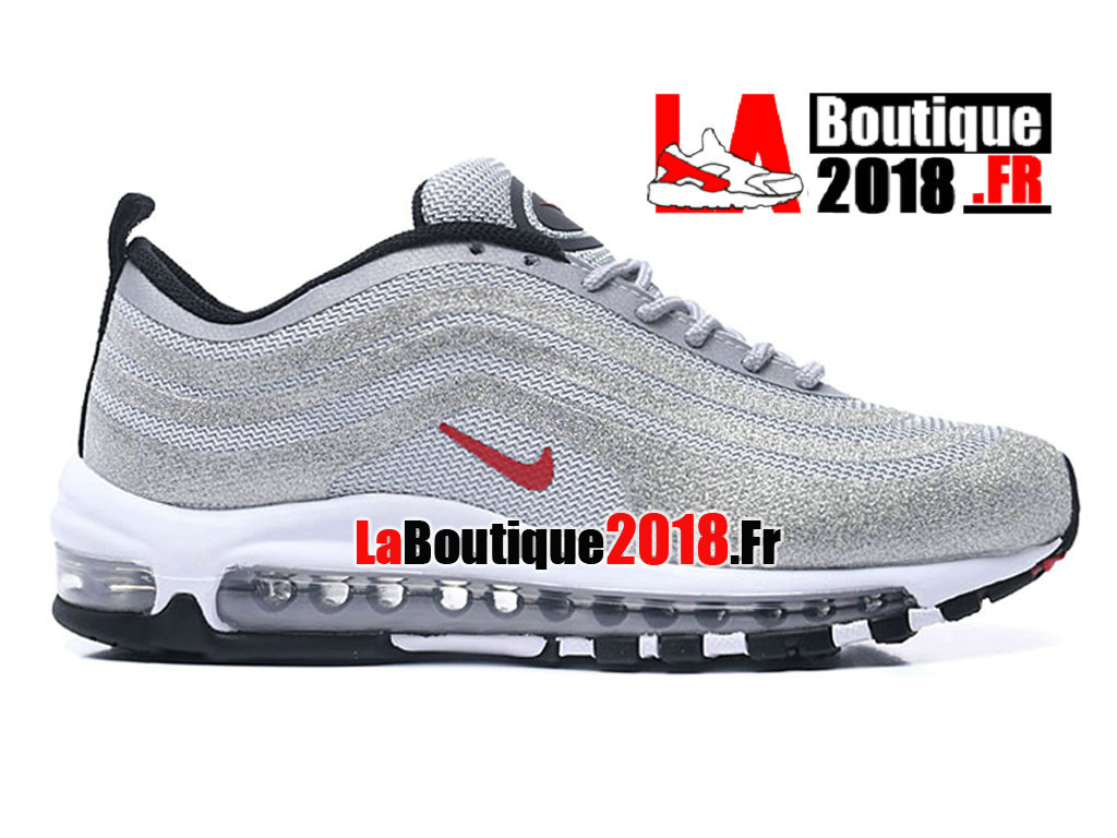 new style 89d08 bd9f7 Officiel Nike Air Max 97 GS - Chaussures Nike Sneaker Pas Cher Pour Femme  Enfant