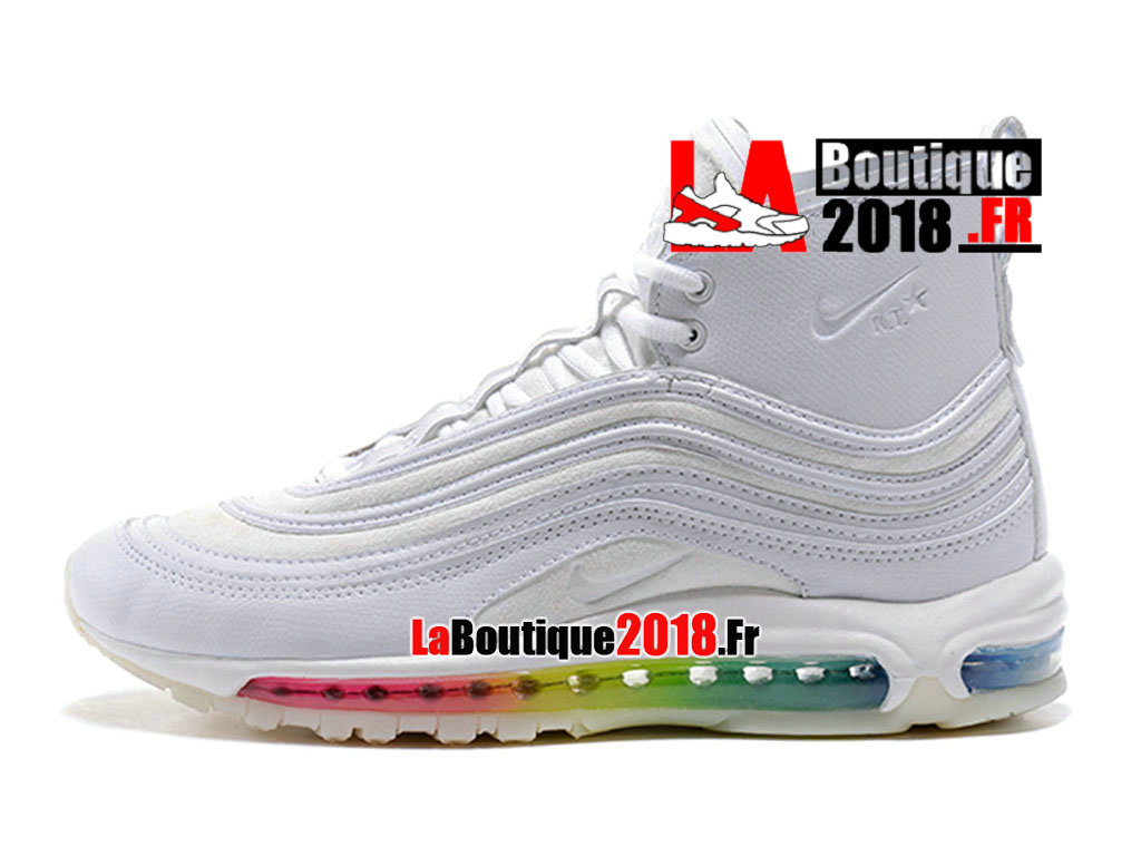 best cheap 2c051 363c4 Officiel Nike Air Max 97 High X Riccardo Tisci Blanc Chaussures Nike  Sneaker Pas Cher Pour