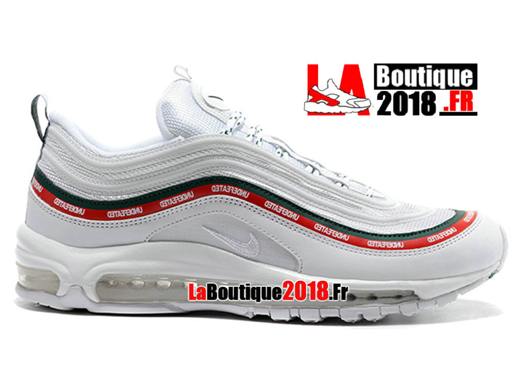 97932ecb05462a Official Nike Air Max 97 OG Undftd Undefeated White Red Aj1986 100 Men´s