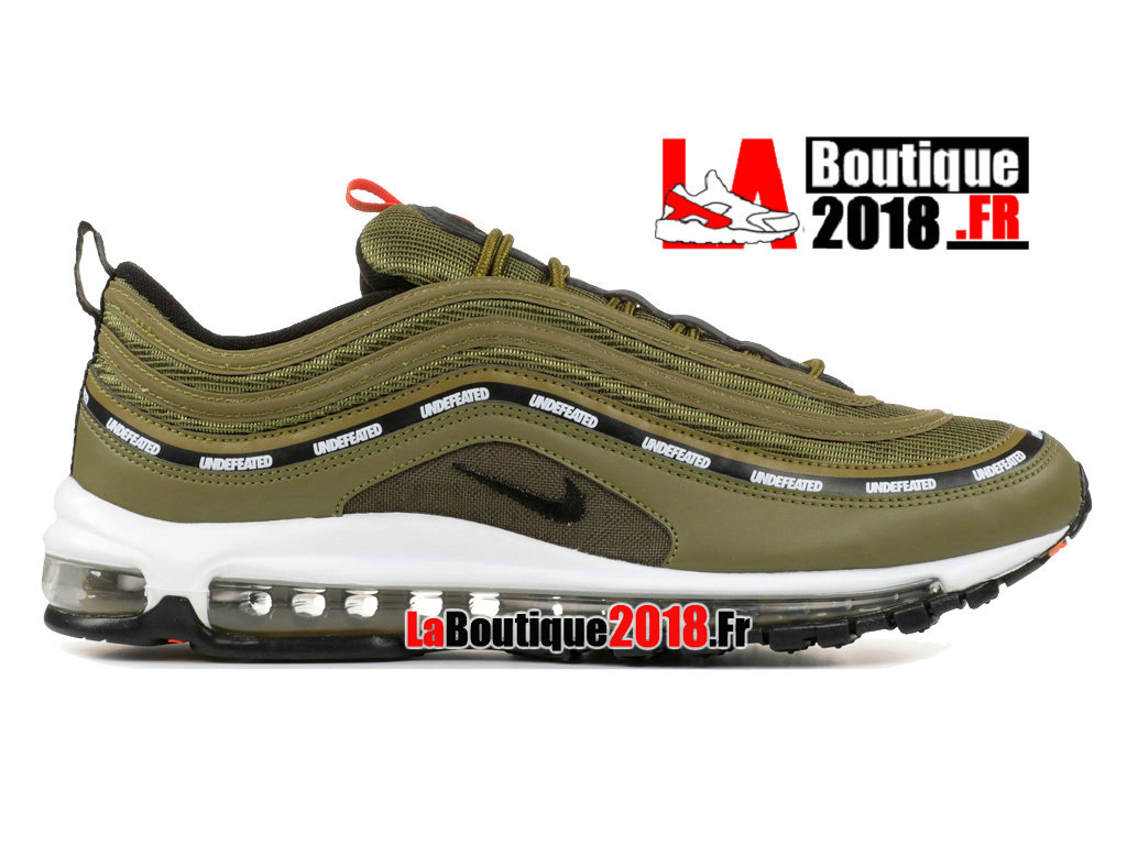 Officiel Nike Air Max 97 Undftd Undefeated Vert/Blanc Aj1986-300 Chaussures Nike Sneaker Pas Cher Pour Homme