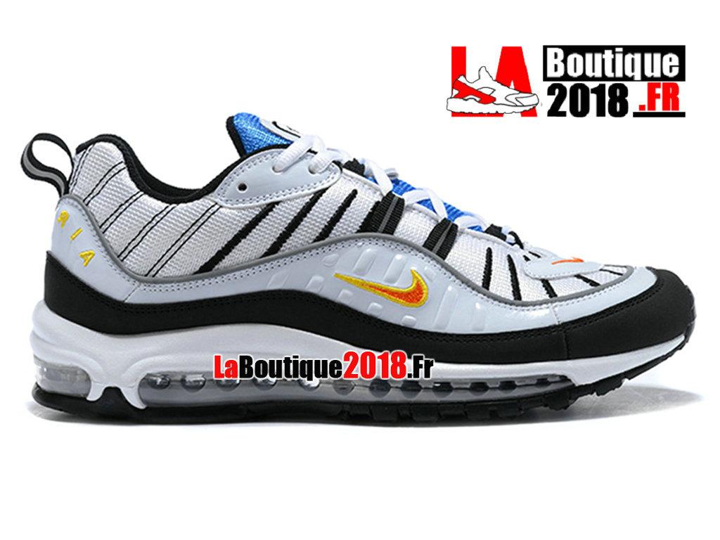 ... Silver White 844694-002.  108.33. Official Nike Air Max 98 - Men´s Nike  Sneaker Shoes White Black  c3a9bf8b2