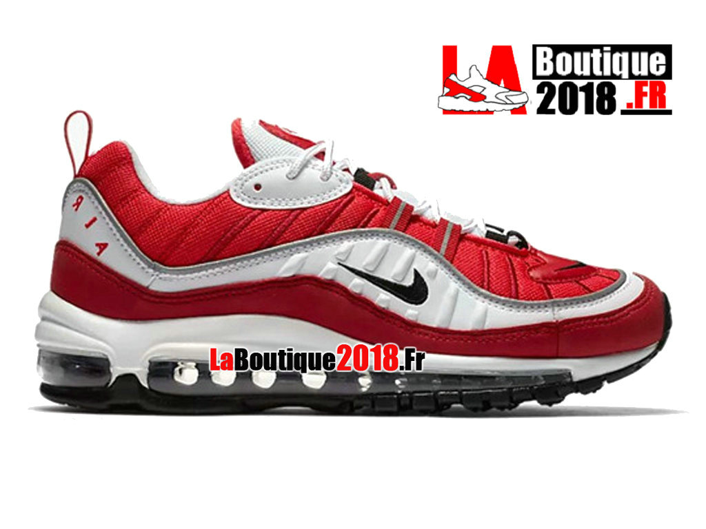 Officiel Nike Air Max 98 - Chaussures Nike Sneaker Pas Cher Pour Homme Gym Rouge AH6799-101