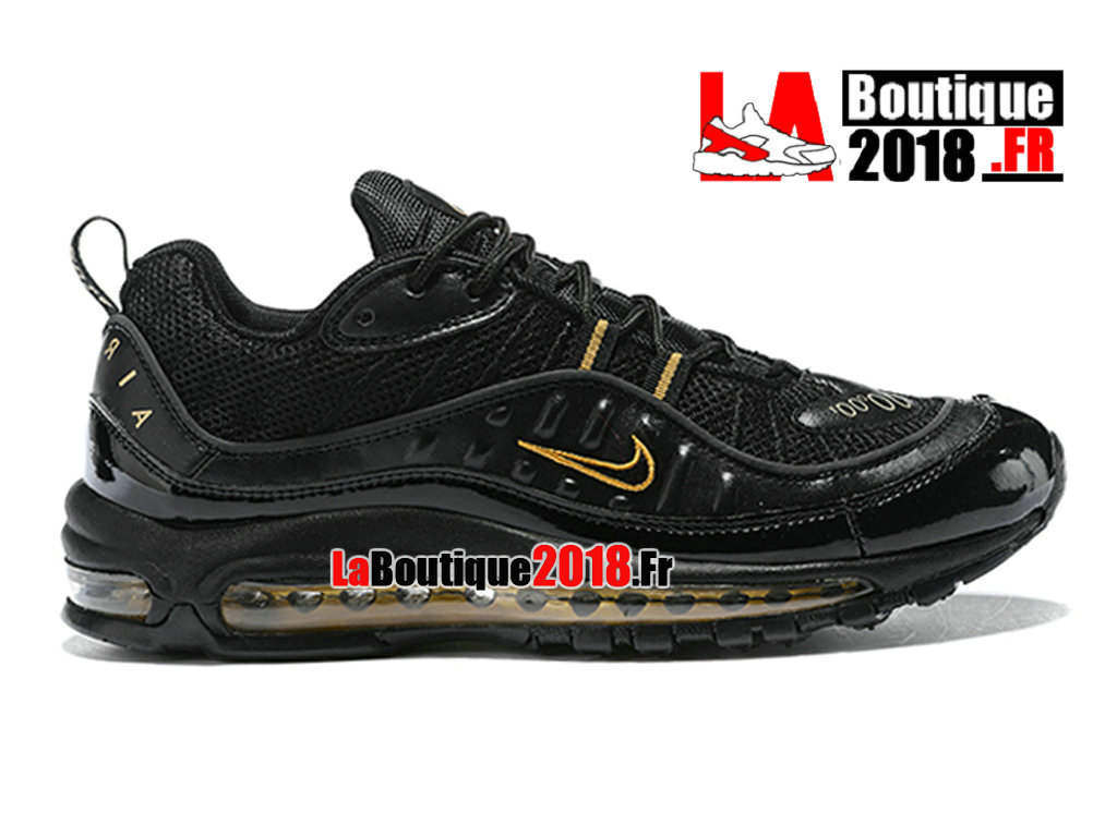 5f213448577 Official Nike Air Max 98 - Men´s Nike Sneaker Shoes Black Yellow 640744-