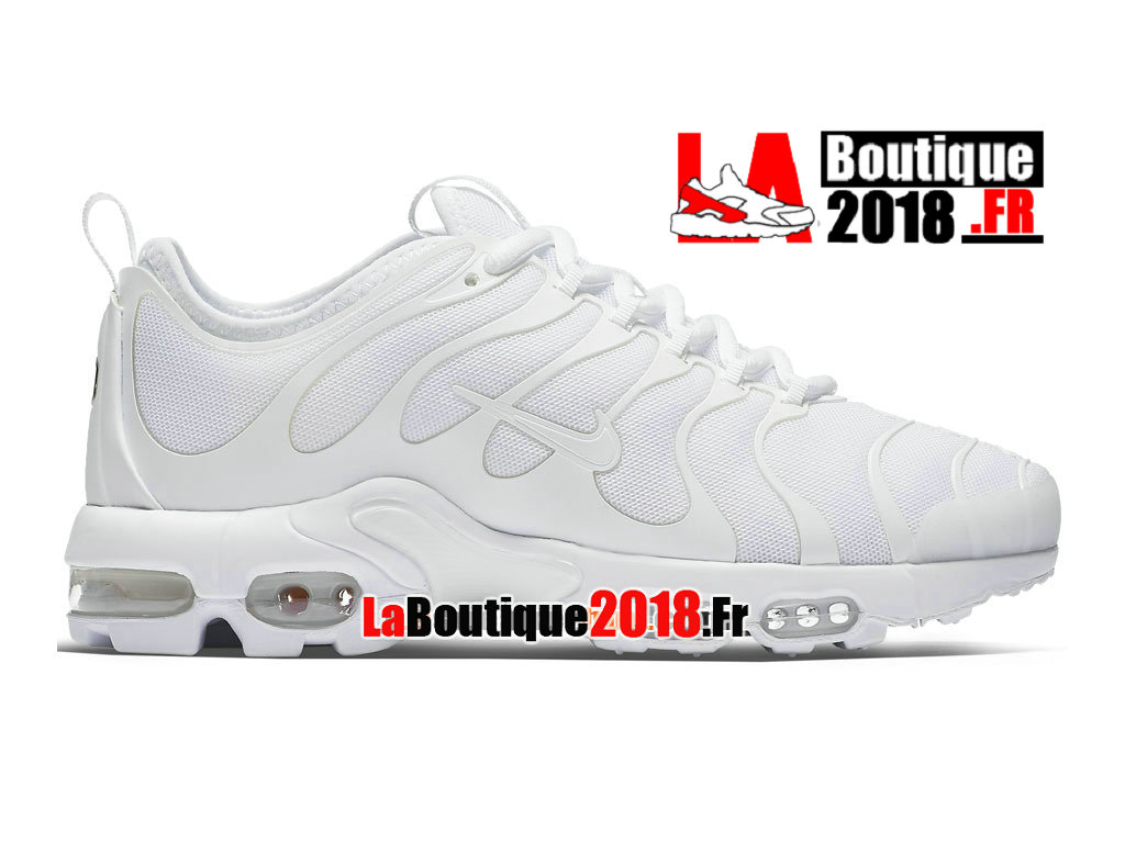 Officiel Nike Air Max Plus Tn Ultra - Chaussures Nike Sneaker Pas Cher Pour Homme  Blanc 881560-102H