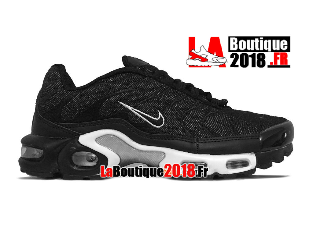 Officiel Nike Air Max Tn/Tuned Requin 2014 - Chaussures Nike TN Sneaker Pas Cher Pour Homme Noir/Blanc 604133-312