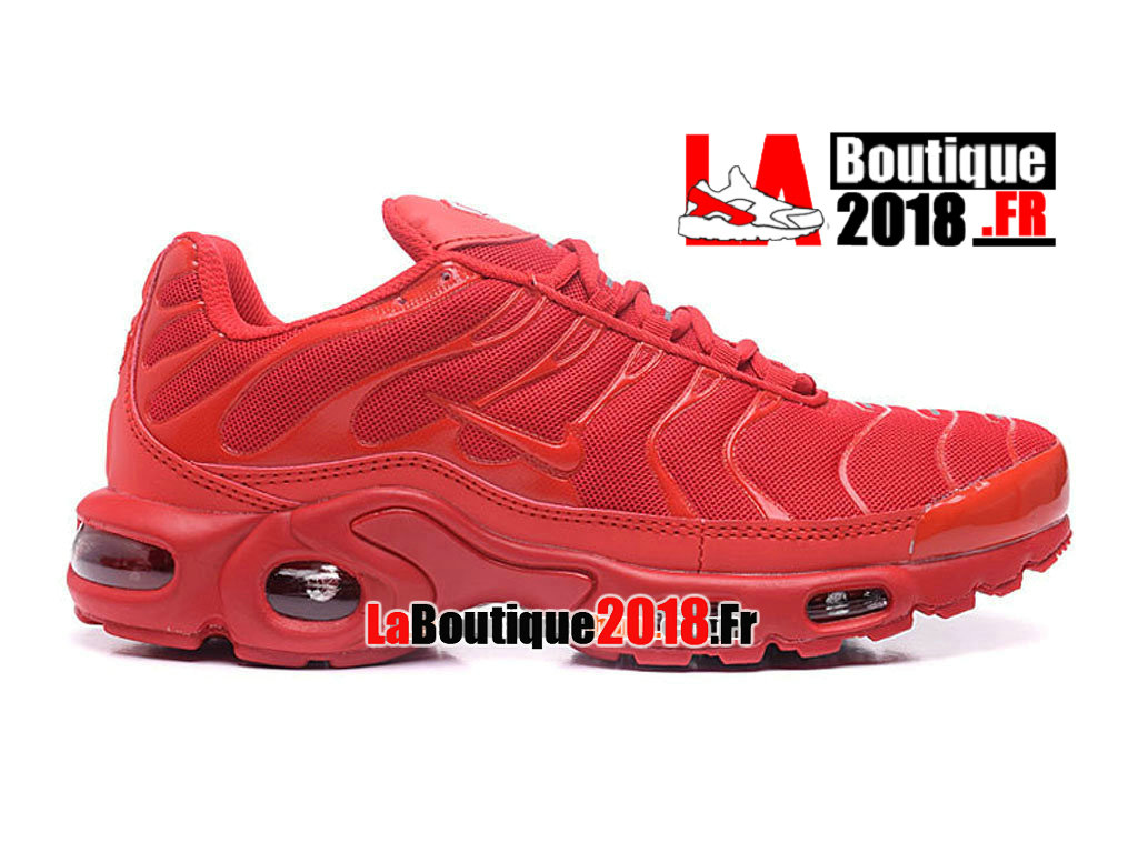 Officiel Nike Air Max Tn/Tuned Requin 2017 - Chaussures Nike TN Sneaker Pas Cher Pour Homme  Rouge lave brillant/Rouge cocktail 604133-676