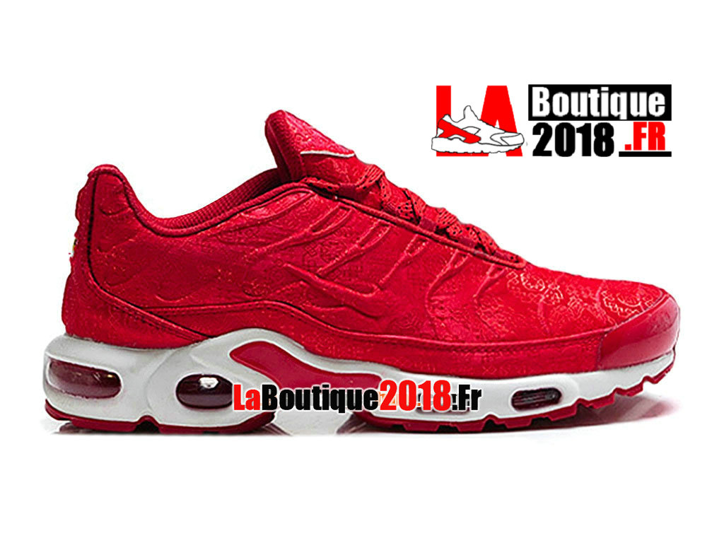 Officiel Nike Air Max Tn/Tuned Requin Mesh - Chaussures Nike TN Sneaker Pas Cher Pour Homme Rouge sportif/Rouge sportif 604133-612