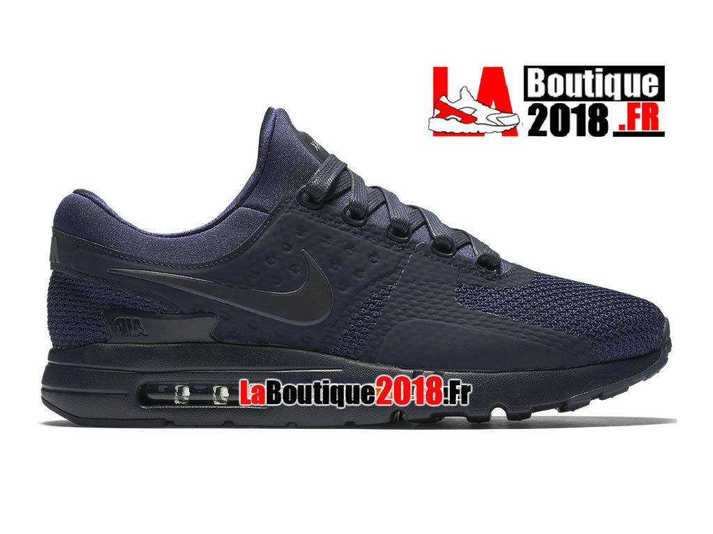 Officiel Nike Air Max Zero - Chaussure Mixte Nike Sneaker Pas Cher (Taille Homme) Bleu 789695-400