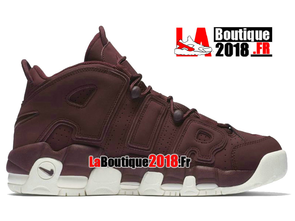 competitive price eb621 82613 Official Nike Air More Uptempo 96 QS Bordeaux Red White 921949-600 Men´s