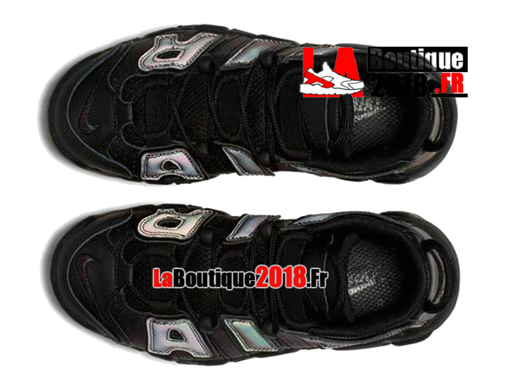 bbafaef51d35 ... Officiel Nike Air More Uptempo Reflective Noir Vert 922845-001  Chaussure Basket Nike Sneaker Pas ...