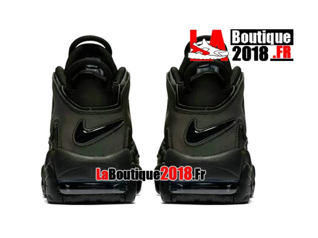 8942f8a7d759 ... Officiel Nike Air More Uptempo Reflective Noir Vert 922845-001  Chaussure Basket Nike Sneaker Pas